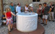 Brunnen im Schlosshof Kannawurf eingeweiht